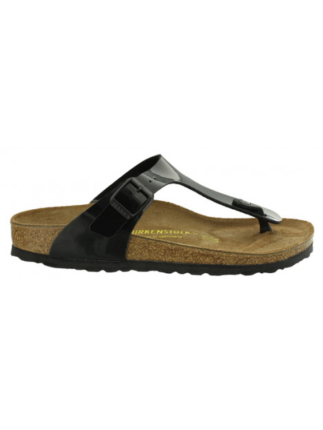 Birkenstock Gizeh black patent narrow 043663 large