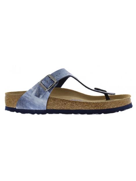 Birkenstock Gizeh used jeans blue soft footbett narrow 1006229 large