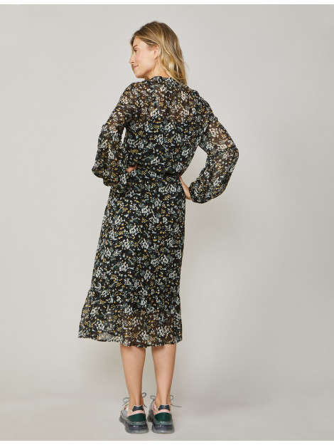 Summum 5s1212-11232 990 dress small flower black 5s1212-11232 990 large