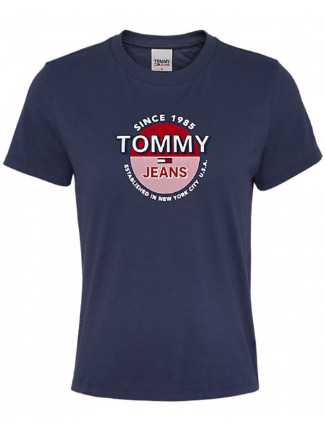 Tommy Hilfiger T-shirt circle logo tee Tommy Hilfiger T-shirt CIRCLE LOGO TEE large