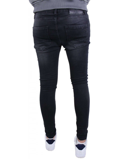 Gabbiano Ultimo jeans black destroyed 82655 large
