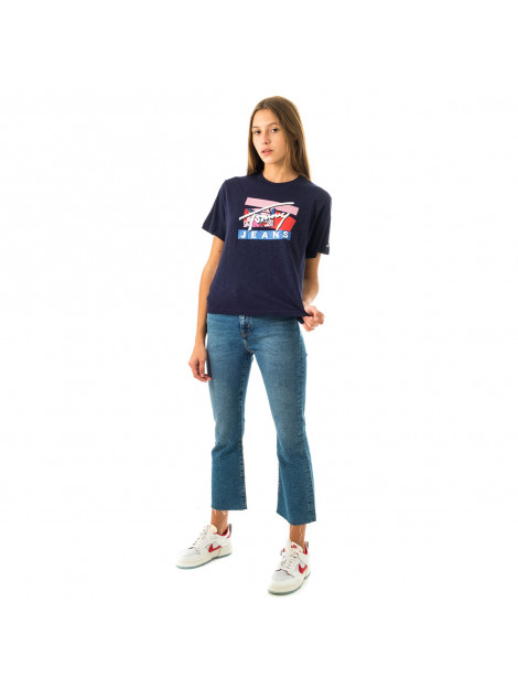 Tommy Hilfiger T-shirt donna tommy jeans tjw signature logo tee dw0dw09070.c87 107168 large