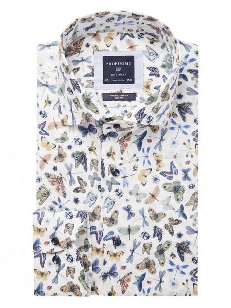 Profuomo Dress hemd ppsh1a1022 Profuomo Dress hemd PPSH1A1022 large