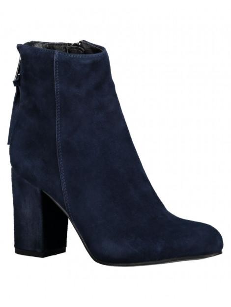 SPM Laars bendle ankle boot kid suede dk navy 20127200-0W0-12-01001-04178 large