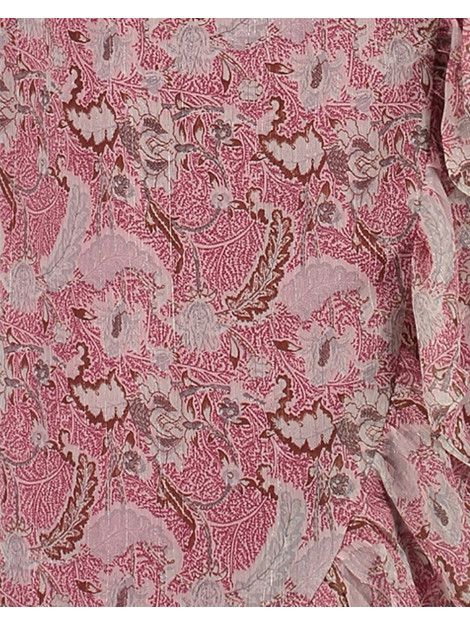 Freebird Rosy midi flower midi dress short sleeve ROSY MIDI FLOWER Midi dress short sleeve. large
