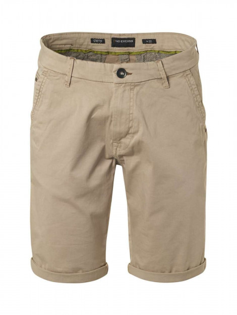 No Excess Short chino stretch garment dyed khaki 118190306SN-043 large