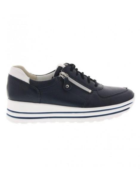 Waldläufer sneakers met verwisselbaar voetbed en rits wijdte H 758009-200-941 large