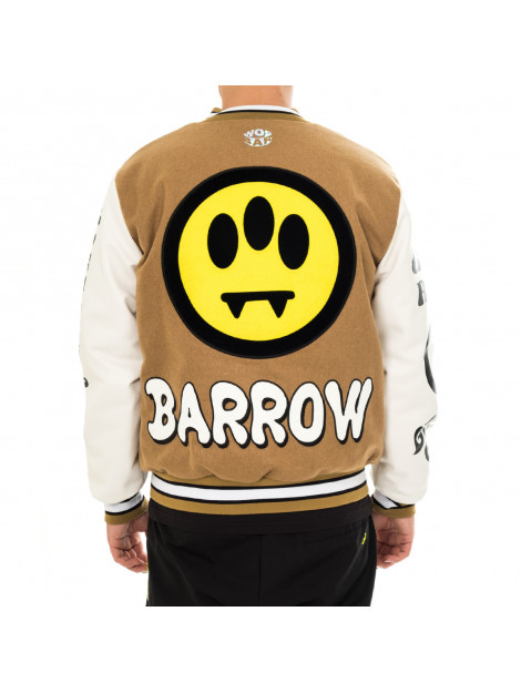 Barrow Giacca uomo cloth-ecoleather college jacket 029565.094 139369 large