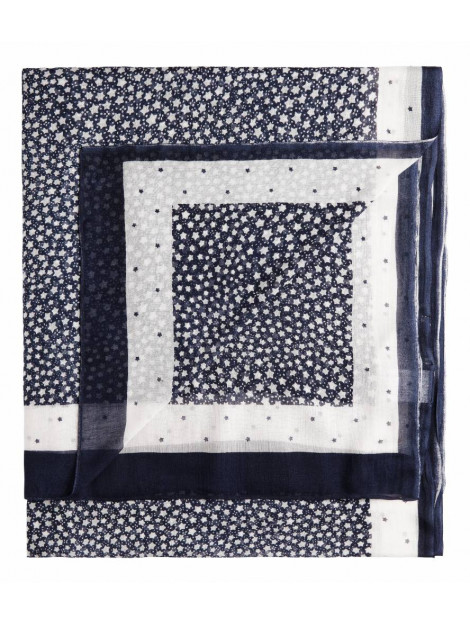 Sandwich 28001234 40138 sjaal woven dark sapphire blauw 28001234 40138 large