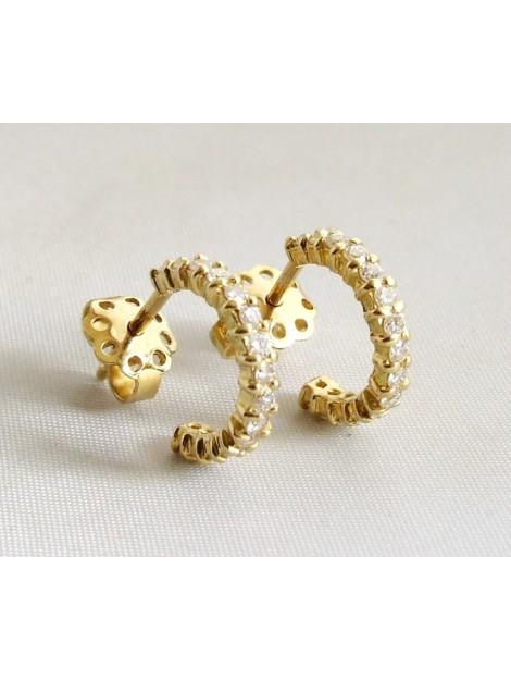 Christian 18 karaat oorbellen met diamanten 9636 large