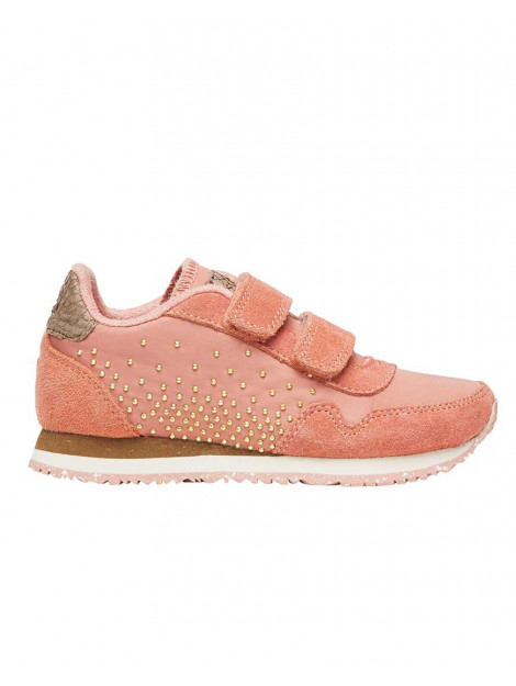 Woden Sneakers norastudded powder pink roze WW040-powder large