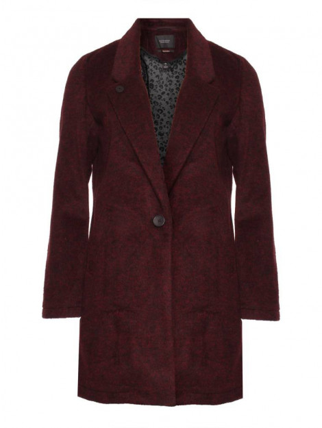 Maison Scotch 145052 0597 bonded wool jacket in checks and solids combo r rood 145052 0597 large