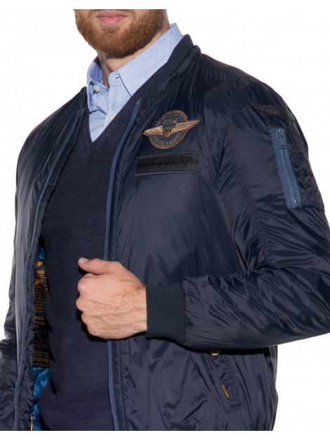 PME Legend Winterjas blauw PJA175121 large