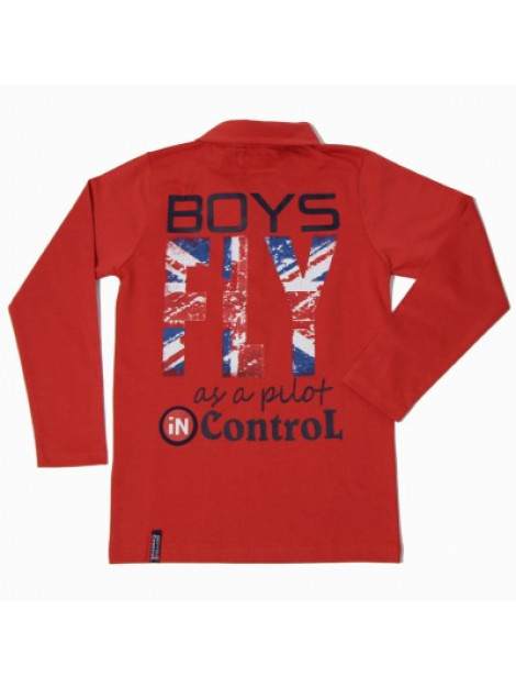 Boys in Control 506 oranje shirt 150 large