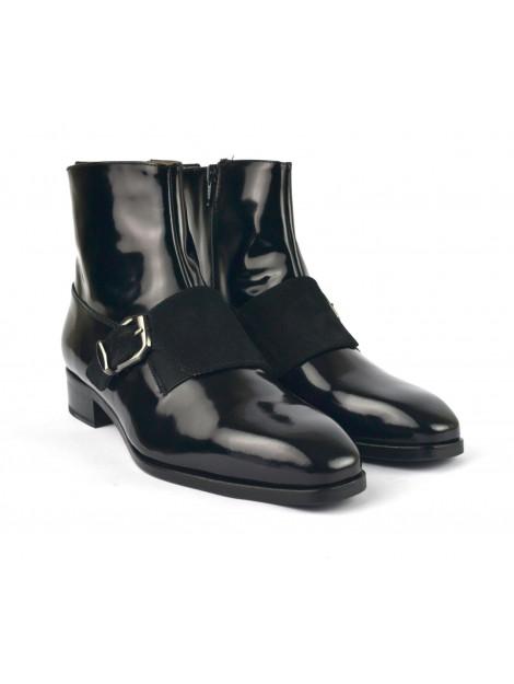 Pertini Korte laarzen zwart   15476c3 black venus   large
