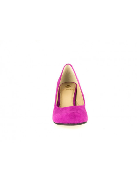 La Strada Dames pumps fuxia paars  large