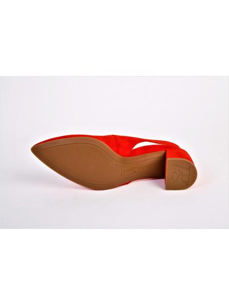 Paul Green artikelnummer 7503 slingback op hakje rood 7503 large