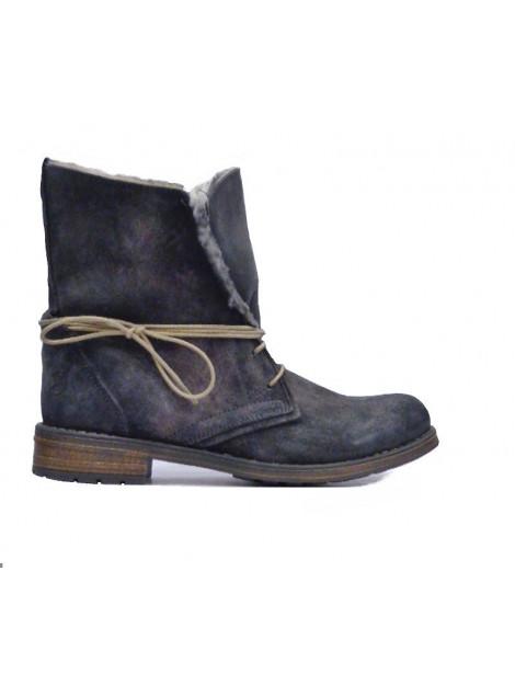 Only A Shoes veter-vachtlaarsje Messy 24 5300 large
