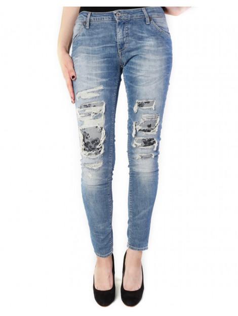 Please Jeans p95 light blue P95HBQ2WI0-Washed Blue large