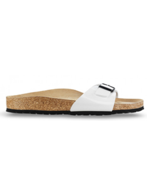 Birkenstock Madrid white patent narrow 240863 large