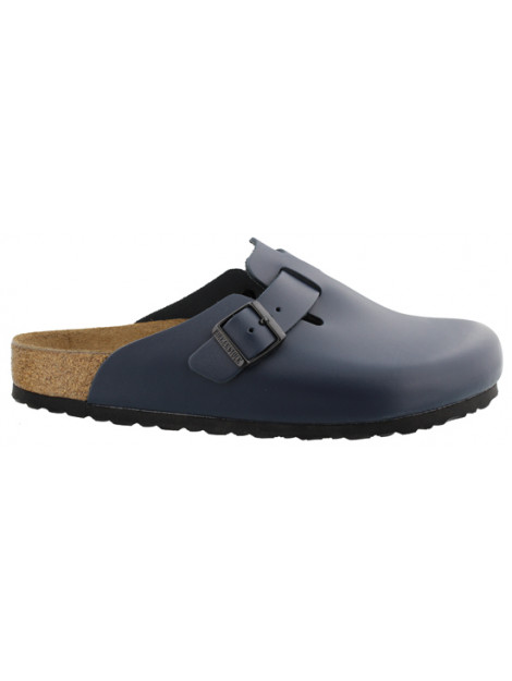 Birkenstock Boston blue leather narrow 060153 large