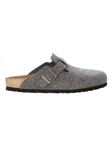 Birkenstock Boston grey wool regular 160361 large