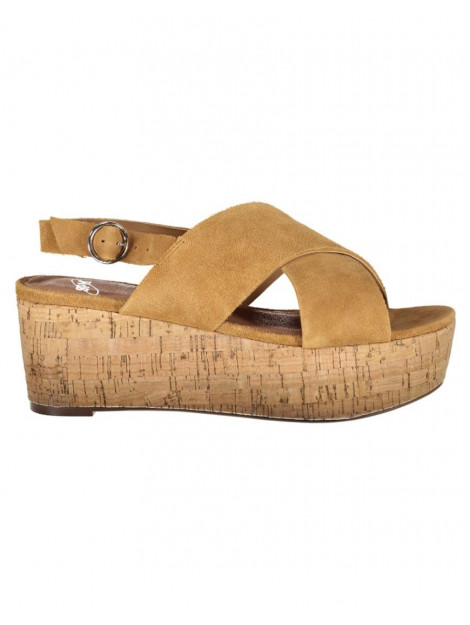 SPM Sandaal casma cork sandal tan 21087670-4so large