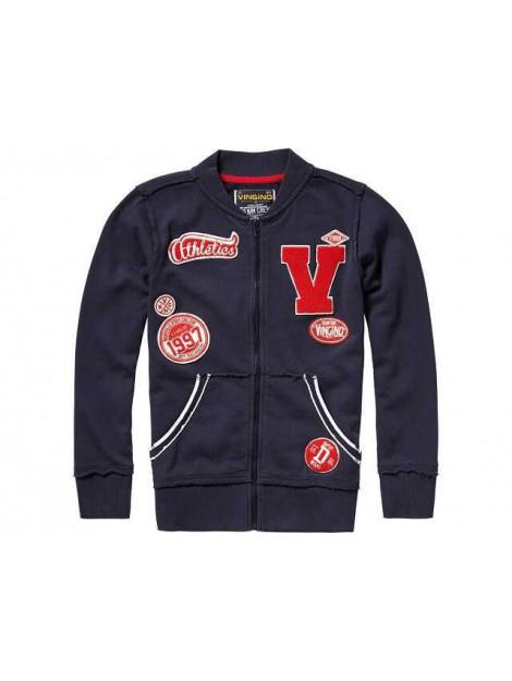 Vingino Vest met rits ocan donker blauw AW17KBN34210-100 large