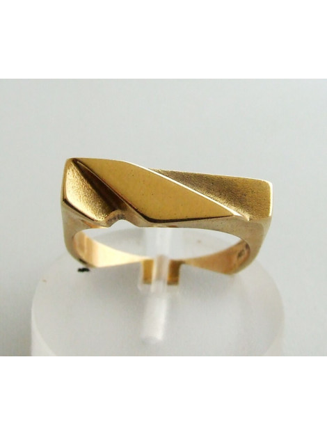 Christian Gouden ring relief 432G9K-7476JC large