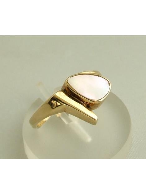 Christian Gouden ring met parelmoer 9083G23-7433OCC large