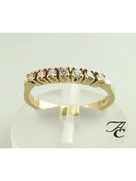 Atelier Christian Gouden ring met diamanten 2390R3-9253AC large