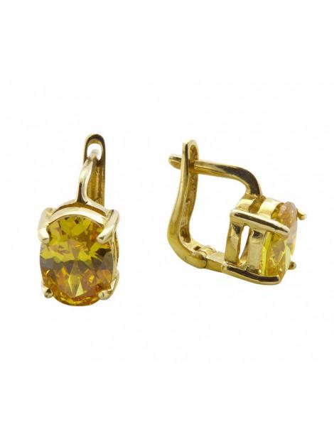 Atelier Christian Gouden oorbellen met citrien 48D39C3-7067JC large