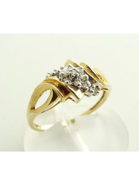 Casio Ocn ring met diamanten  large