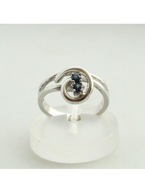 Christian Ring met saffier 3298R07-0889JC large