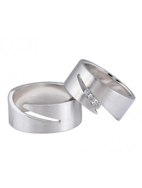 Christian Diamanten trouwringen 0.11 ct. 38C92-3887L large