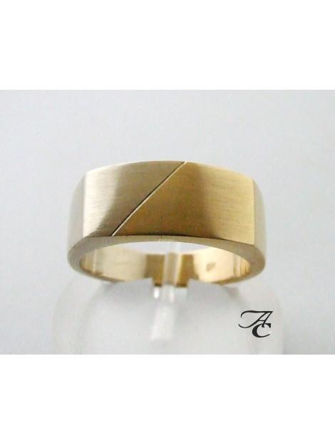 Atelier Christian Gouden bicolor ring 2E83U9-9393AC large
