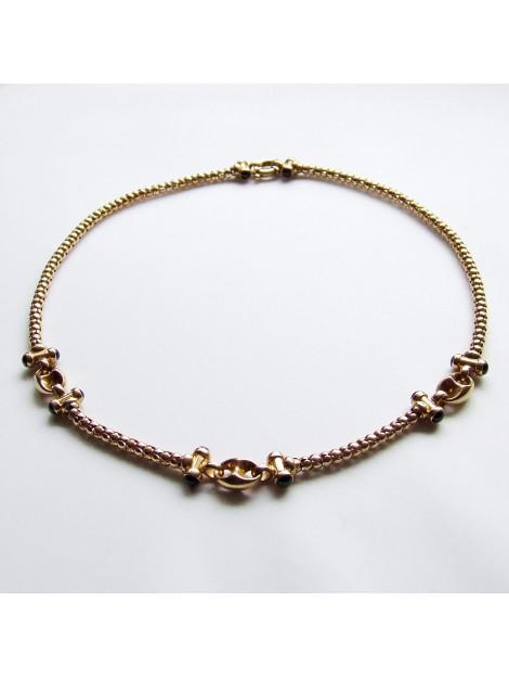 Christian Gouden collier met saffier 67D8937-0672JC large