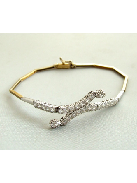 Christian Gouden zirkonia armband 9023G83-5204JC large