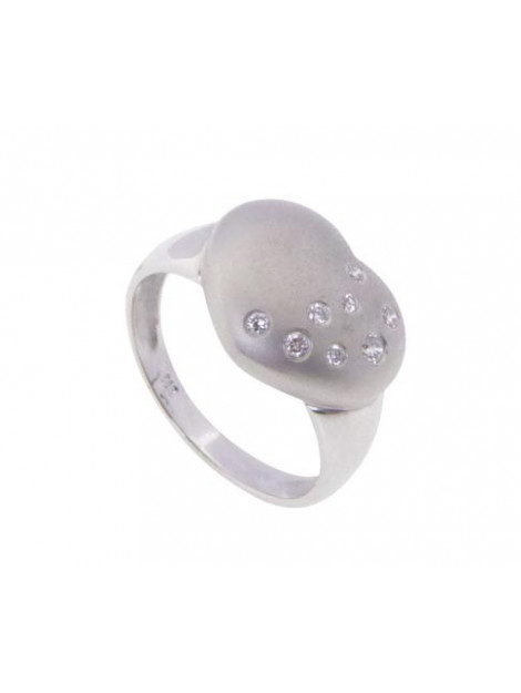 Christian Harten ring met diamanten 436A7-2011JC large