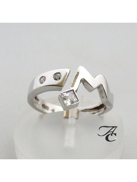 Atelier Christian Ring met witte zirkonia 32879832AC large