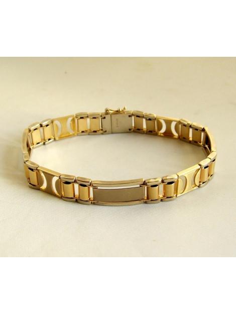 Christian Gouden bicolor schakelarmband 902387-3478JC large