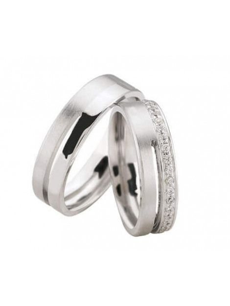 Christian 14 karaat diamanten trouwringen 90237Y3-4020L large