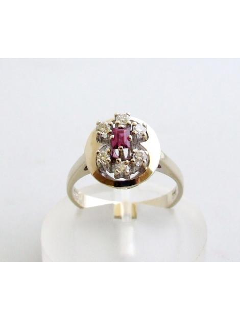 Christian Ring met diamant en robijn 8927C33-8627OCC large