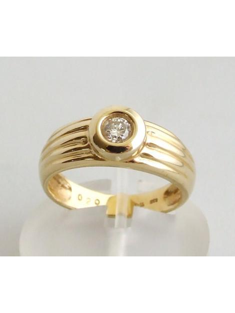 Atelier Christian Gouden briljanten ring 930R237-6904AC large