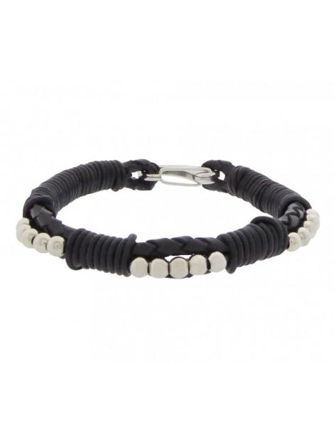 Christian Black leather bracelet 98233237JC large