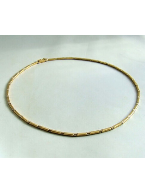 Christian Bicolor gouden collier 903D27-2098JC large