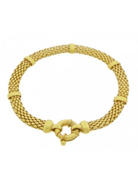 Christian 14 karaat gouden geweven armband 103P43-0954JC large
