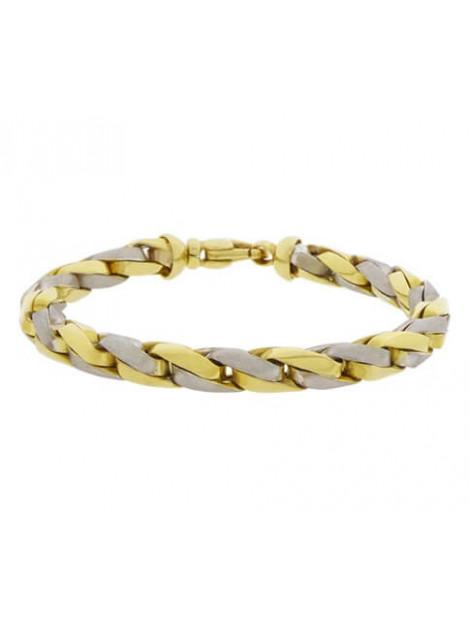 Christian Armband bicolor goud 9082R23-1660JC large