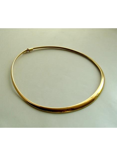 Christian Gouden omega collier  large