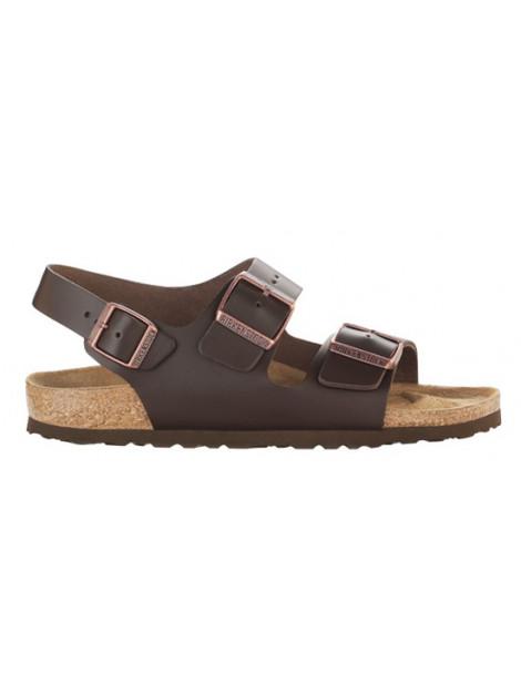 Birkenstock Milano dark brown leather regular 034101 large